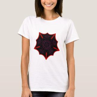 Gothic Fractals Vampire's Star t-shirt