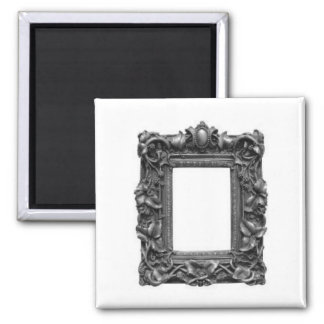Gothic Frame 2 Inch Square Magnet