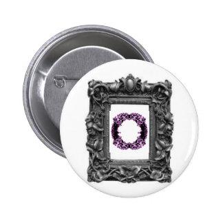 Gothic Frames Pinback Button