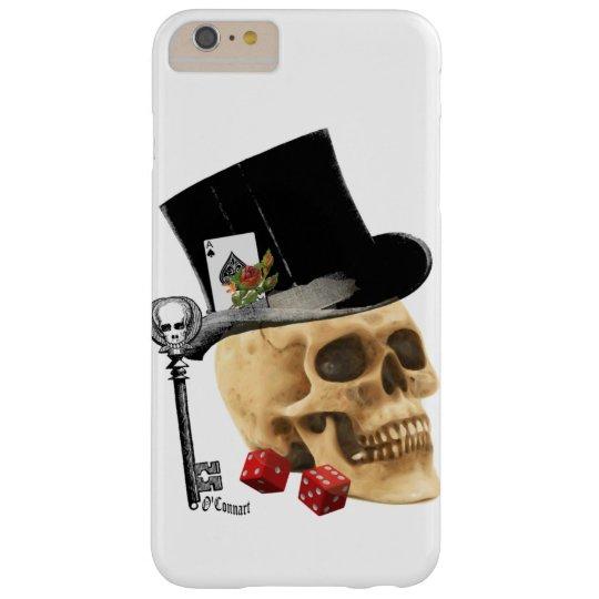 Gothic gambler skull tattoo design blackberry bold cover