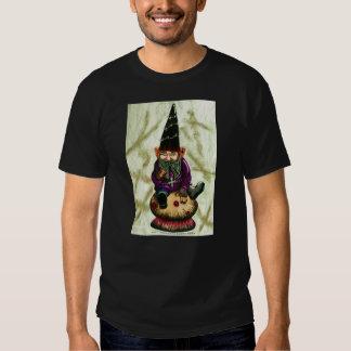 Gothic Garden Gnome & Mushroom T Shirts