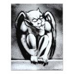 Gothic Gargoyle 4.25x5.5 Paper Invitation Card
