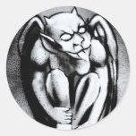 Gothic Gargoyle Stickers