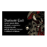 Gothic Geisha Double-Sided Standard Business Cards (Pack Of 100)