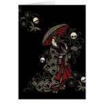 Gothic Geisha Cards