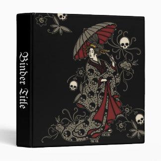 Gothic Geisha Vinyl Binders