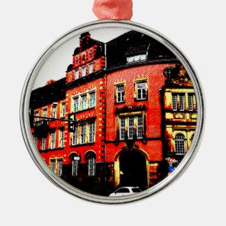 gothic german building mystic view metal ornament