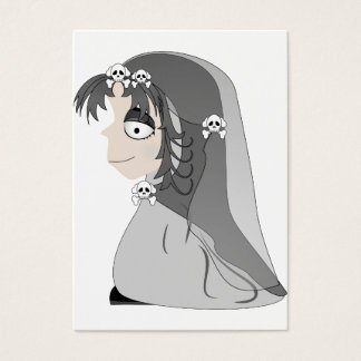 Gothic Ghost Girl Business Card