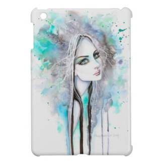 Gothic Ghost Girl Fantasy Watercolor Art Case For The iPad Mini