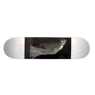 Gothic ghost skateboard deck