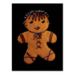 Gothic Gingerbread Cookie Postcards