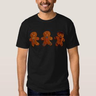 Gothic Gingerbread Man T Shirts