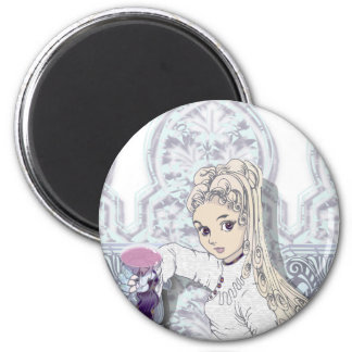 Gothic girl02b magnet