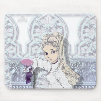 Gothic girl02b mouse pad