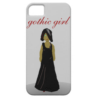Gothic girl iPhone 5 cover