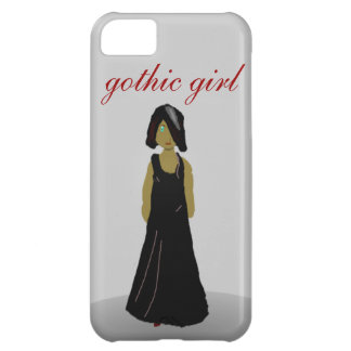 Gothic girl iPhone 5C cover
