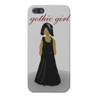 gothic girl case for iPhone SE/5/5s