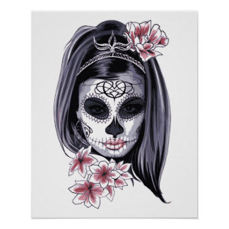 Gothic Girl Poster