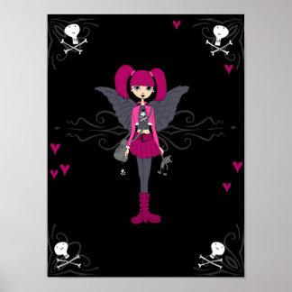 Gothic Girl Poster