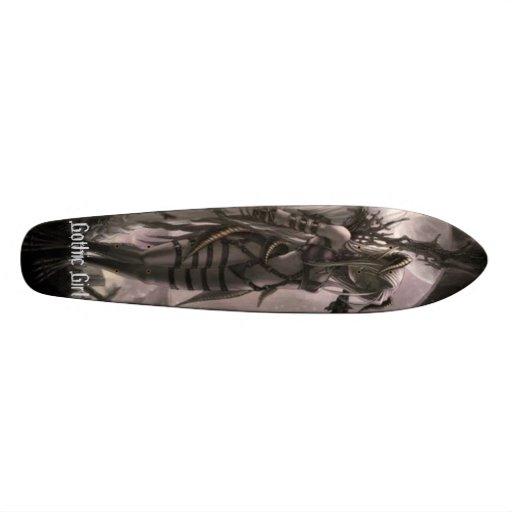 Gothic Girl Skate Boards