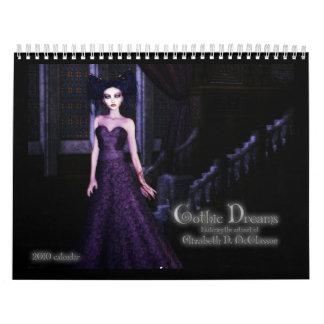 Gothic Girls 2010 Wall Calendar