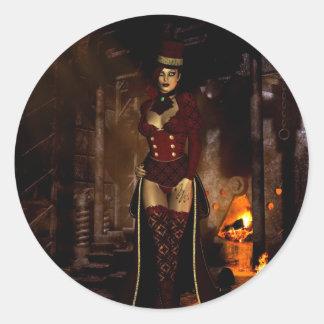 Gothic Girls Beneath the Lair sticker