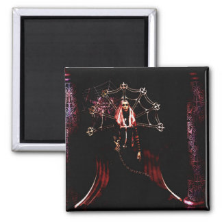 Gothic Girls Blood Witch Magnet