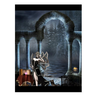 Gothic Girls Distractions fantasy postcard