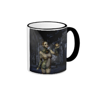 Gothic Girls Future Love Ringer Coffee Mug