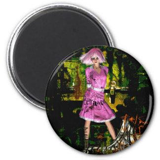 Gothic Girls Hot Off The Press grunge fantasy Magnet