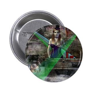 Gothic Girls Join Me Vampire Fantasy Pinback Button