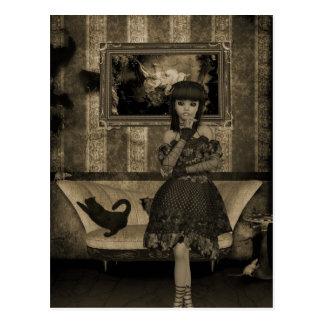 Gothic Girls: Memories postcard