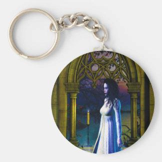 Gothic Girls Missing You Keychain