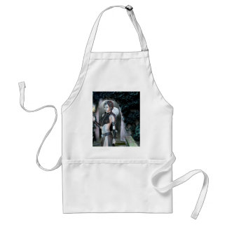 Gothic Girls Night Magick Adult Apron