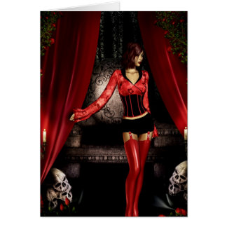 Gothic Girls Princess Mi card