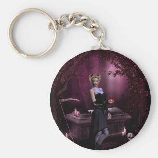 Gothic Girls Soul Keeper keychain