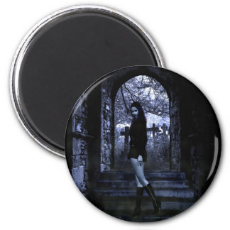 Gothic Girls The Crypt magnet
