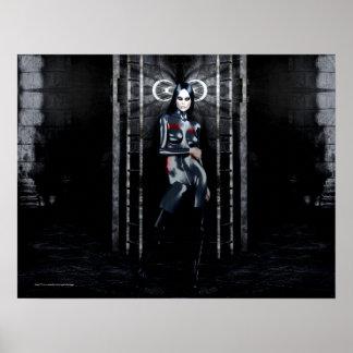 Gothic Girls The Dark Gift vampire poster