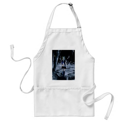 Gothic Girls Waking The Dead Aprons