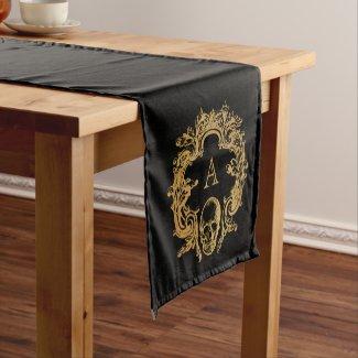 Gothic Glam | Table Runner | Black