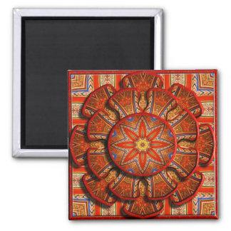 Gothic Glory 3D Kaleidoscope Fridge Magnet