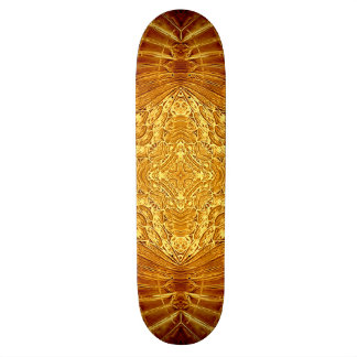 Gothic Gold Skateboard Deck