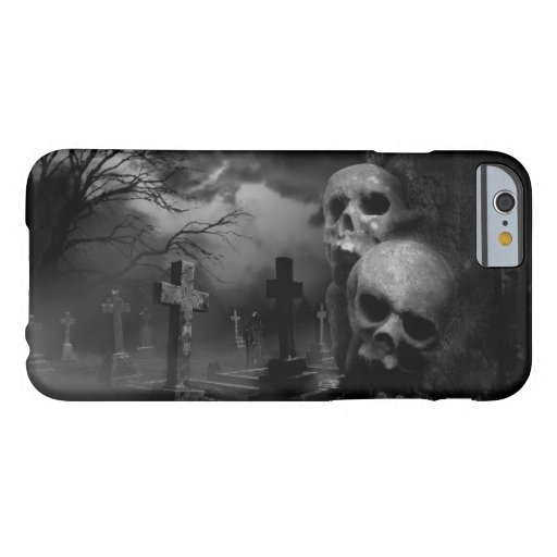 Gothic Graveyard - Graveyard Shift Barely There iPhone 6 Case
