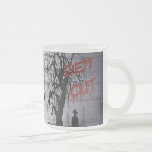 Gothic Graveyard Mug
