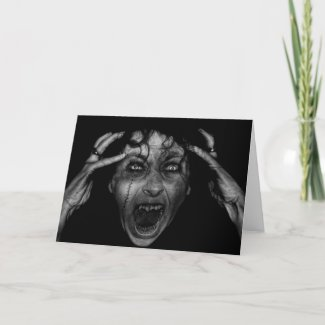 Gothic Greeting Cards card