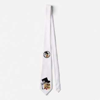 Gothic groomsman bachelor or wedding tie