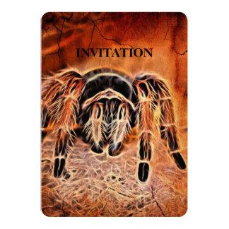 Gothic Halloween creepy crawlies spider Tarantula Card
