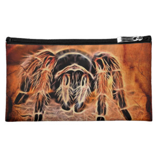 Gothic Halloween creepy crawlies spider Tarantula Makeup Bag