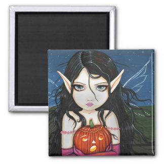 Gothic Halloween Fairy Art Magnet