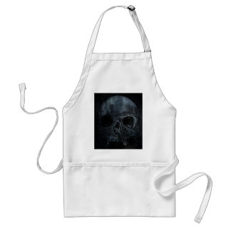 Gothic halloween medical skeleton bone Xray Skull Adult Apron